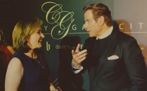 CEO Cheryl Conner interviews John Travolta at City Gala 2017