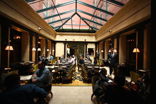 NoMad Restaurant, 1170 Broadway, New York (Image courtesy of Forbes.com)