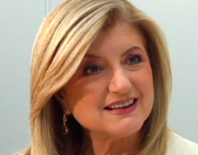 Arianna Huffington is the author of NYT besteller Thrive (Image courtesy of Forbes.com)